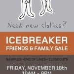 Icebreaker Friends and Family Sale - 11/18